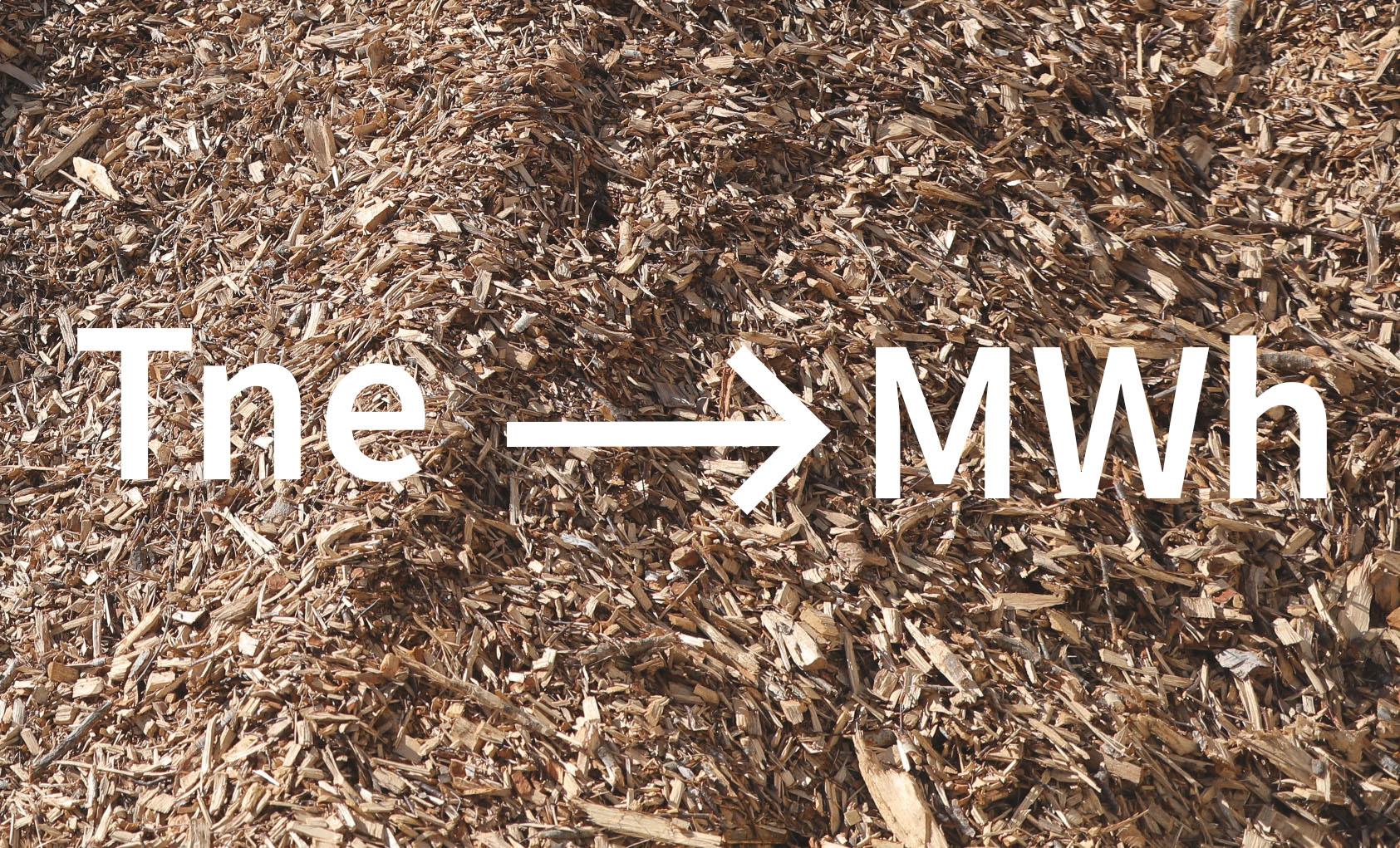Nuo rugsėjo 1d. tona naftos ekvivalento (Tne) keičiama į megavatvalandes (MWh)